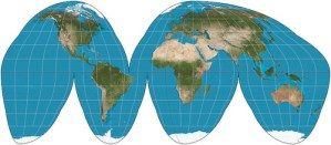 Goode Homolosine Projection- Kid World Citizen