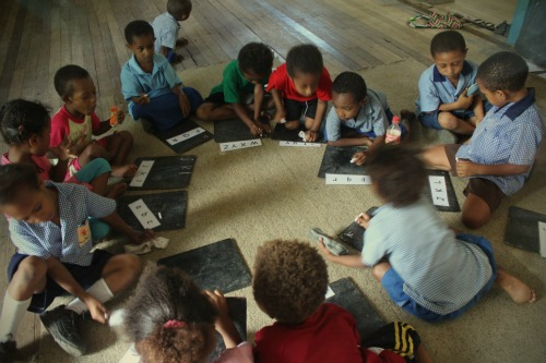 Kids Learning in Papua New Guinea- Kid World Citizen