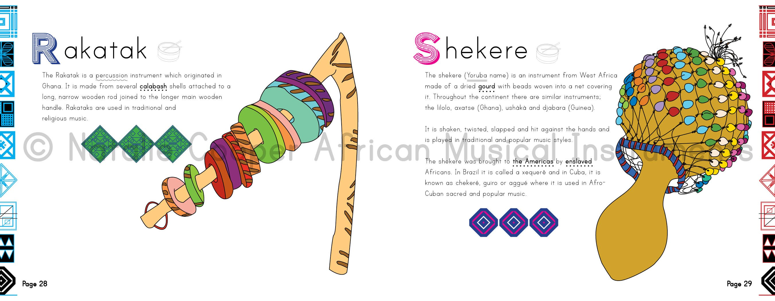 Pages from African Musical Instruments- Kid World Citizen