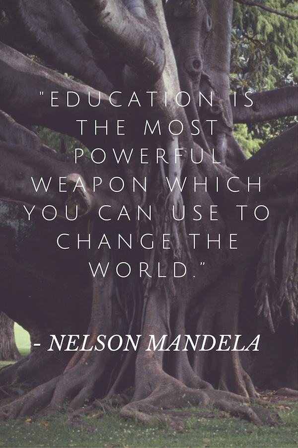 Quotes from Nelson Mandela- Kid World Citizen