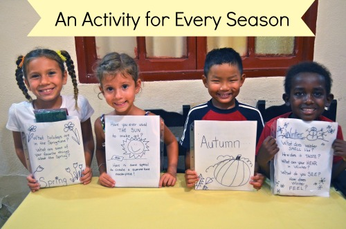 Activities about the Seasons- Kid World Citizen