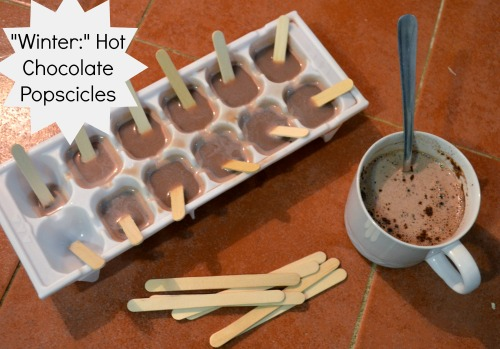 Winter Hot Chocolate Popsicles- Kid World Citizen