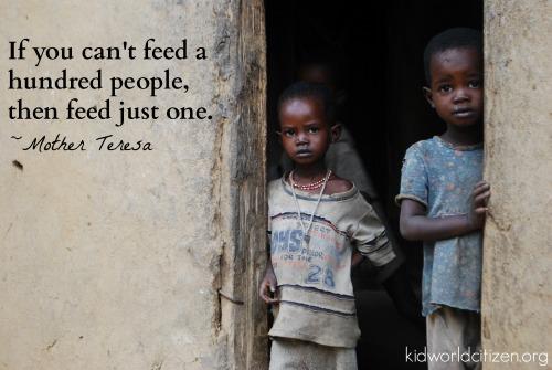 Teach Kids About Hunger Lesson Plans- Kid World Citizen