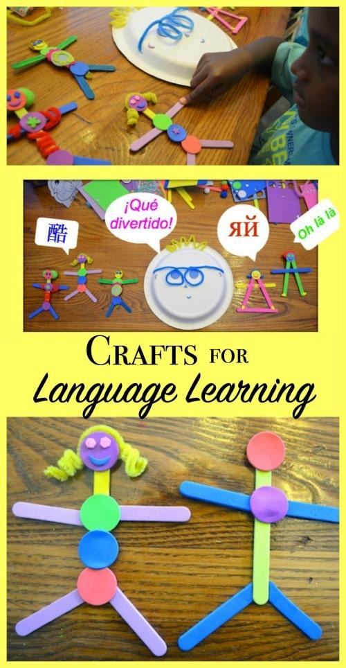 Crafts Language Learning- Kid World Citizen