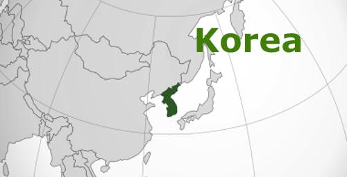 Korea Map- Kid World Citizen