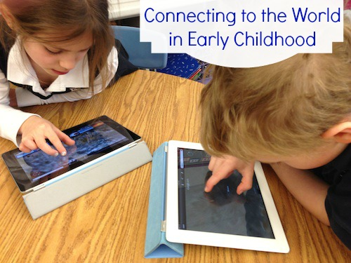 Early Childhood Kids Skype with New Zealand- Kid World Citizen