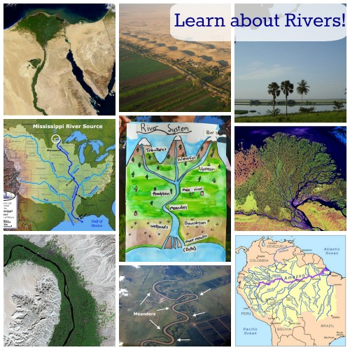 Learn about Rivers Kids- Kid World Citizen