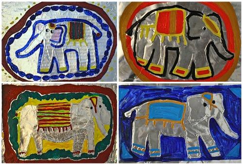 Thai Elephant Craft Kids- Kid World Citizen