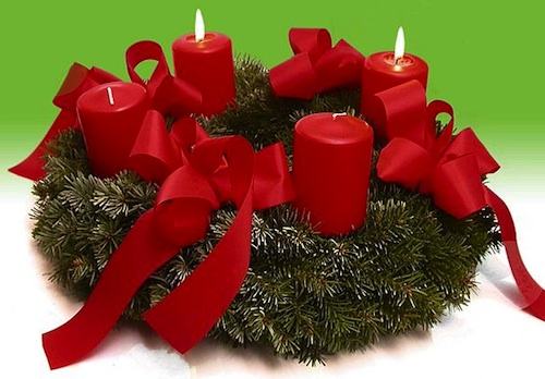 Advent wreath- Kid World Citizen