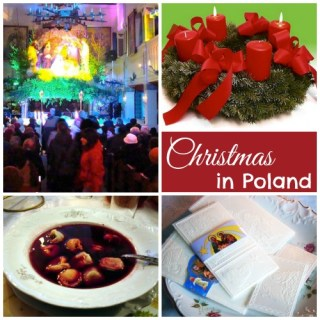Christmas in Poland + Borscht and Uszka