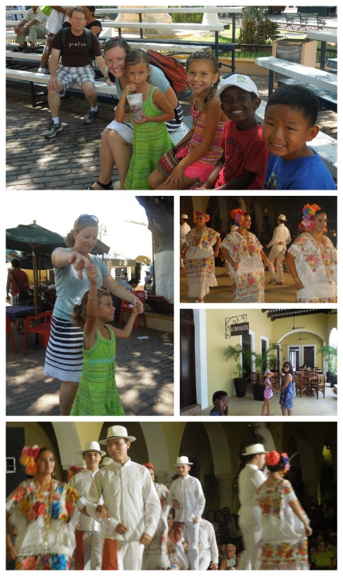 Santa Lucia Merida Mexico with Kids- Kid World Citizen