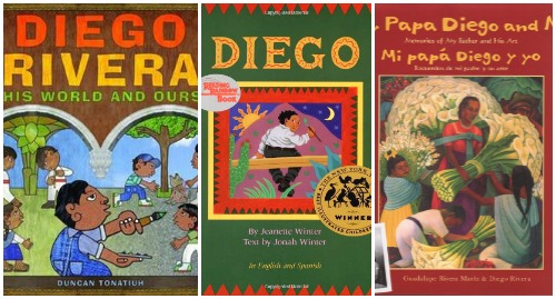 Books about Diego Rivera for Kids- Kid World CItizen
