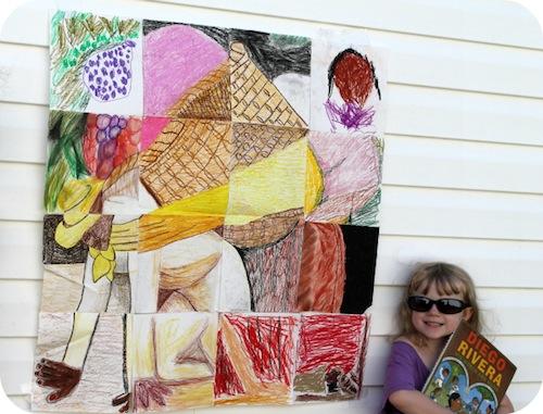 Diego Rivera Exchange MURAL- Kid World Citizen