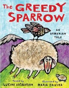 Greedy Sparrow Cover- Kid World Citizen