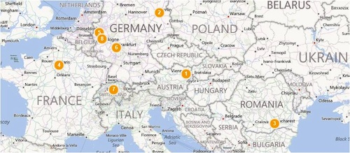 Geography Lessons Europe Tour Map- Kid World Citizen