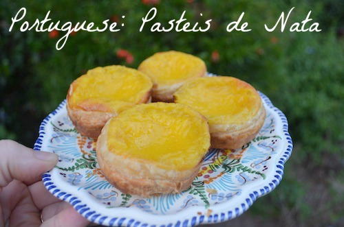 Pasteis de Nata Portugal- Kid World CItizen