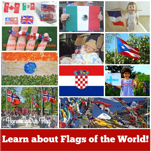 Flags of the World- Kid World Citizen