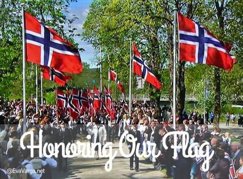 Honoring Our Flag- Kid World Citizen