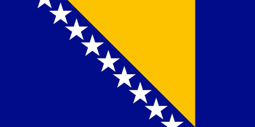 Flag of Bosnia and Herzegovina- Kid WOrld Citizen