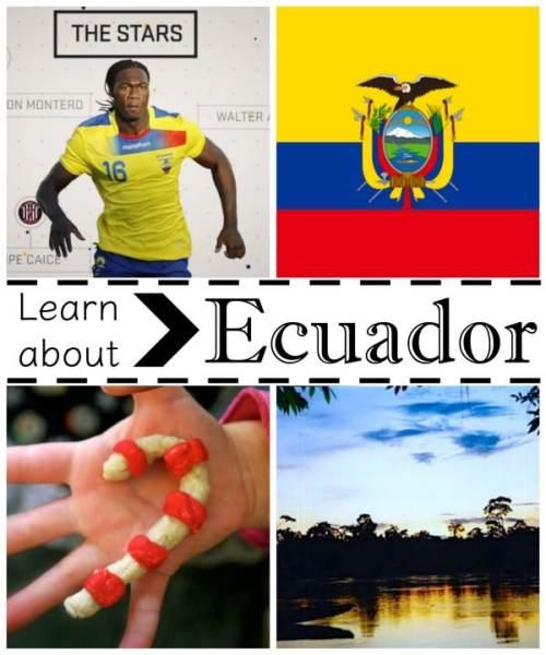 Learn about Ecuador- Kid World Citizen