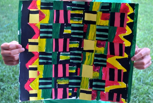 Kente Cloth Art Project- Kid World Citizen