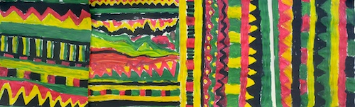 Kente Cloth Paper_Weaving Project- Kid World Citizen