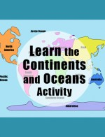 Geography for Kids Activity Continents Oceans Kid World Citizen TPT