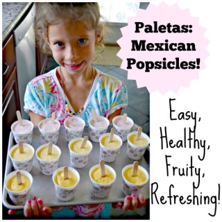 "Icy ""Paletas,"" Mexican Popsicles"