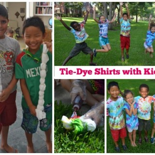 Tie Dye Shirts Kids- Kid World Citizen