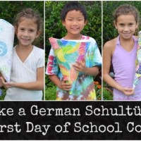 """Make a Schultuete: A German """"School Cone"""""""