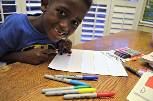 Make Teacher Gifts with Kids- Kid World Citizen