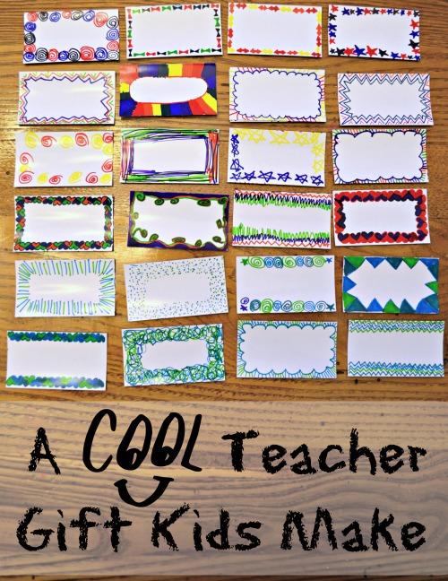 Gift for Teachers Made by Kids- Kid World Citizen
