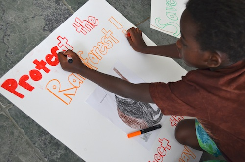 Endangered Species Project Poster- Kid World Citizen