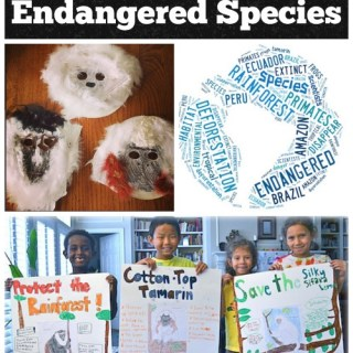 Endangered Species Projects and Lessons for Kids