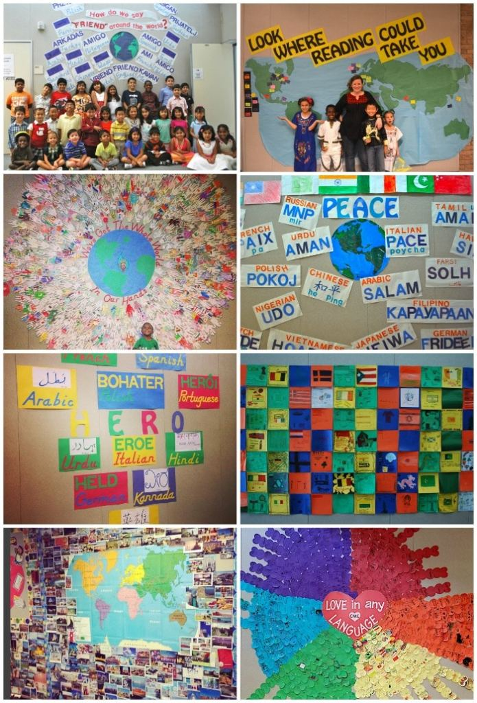 Global Multicultural Bulletin Board Ideas- Kid World Citizen