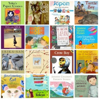 Books about Japan for Kids
