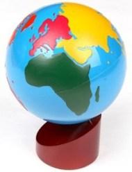 Montessori Geography Globe- Kid World Citizen