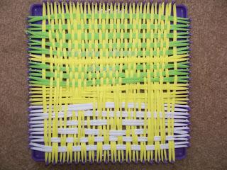 Weaving Projects for Kids Potholder- Kid World CItizen