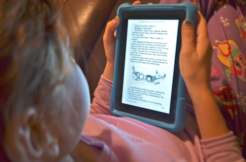 Amazon Fire Reading Books- Kid World Citizen