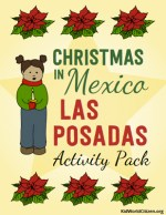 Las Posadas Activity Pack Bilingual Minibook Christmas Around the World Kid World Citizen
