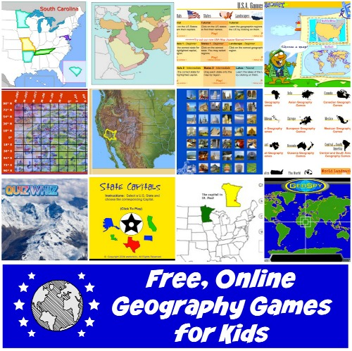 Online Geography Games for Kids! Free and Fun Learning