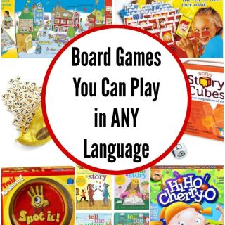 Board Game Foreign Language- Kid World Citizen