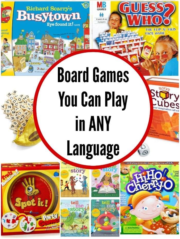 Board Game Foreign Language- Kid World Citizen