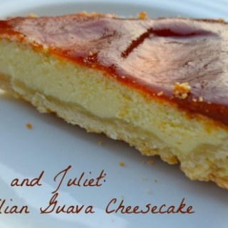 """Romeo and Juliet"" Guava Cheesecake Recipe"