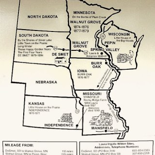 Laura Ingalls Museum Travel Map- Kid World Citizen