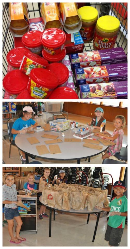 Feeding Kids Lunch- Kid World Citizen