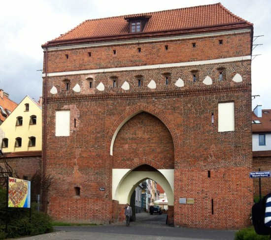 Entrance to Torun Poland for Kids- Kid World Citizen
