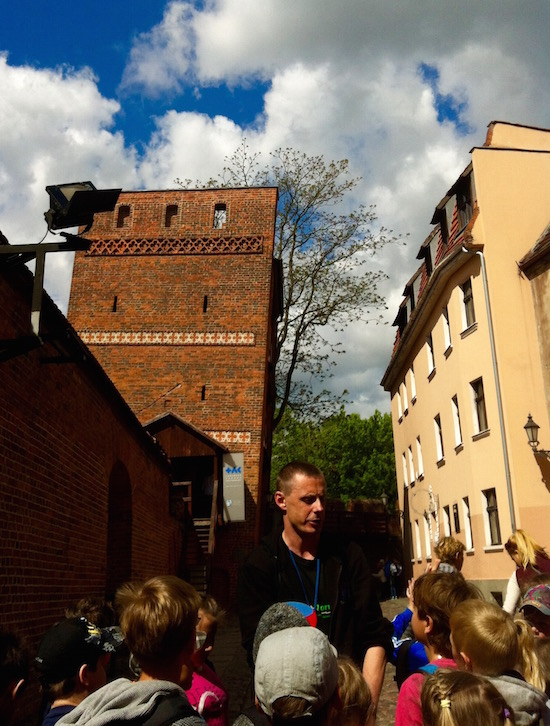Leaning Tower of Torun Poland for Kids- Kid World Citizen