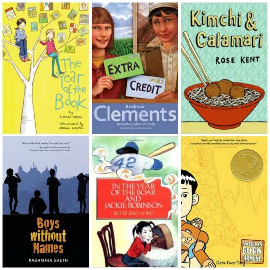 Asian American Chapter Books- Kid World Citizen