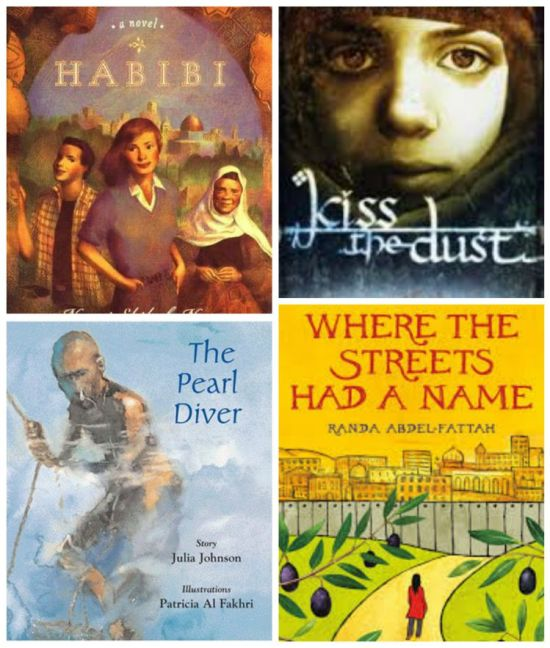 Middle Eastern Chapter Books- Kid World CItizen